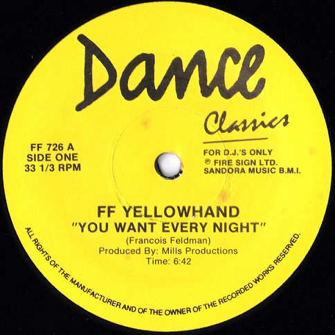 ff yellowhand / kreamcicle you want every night / hold on
