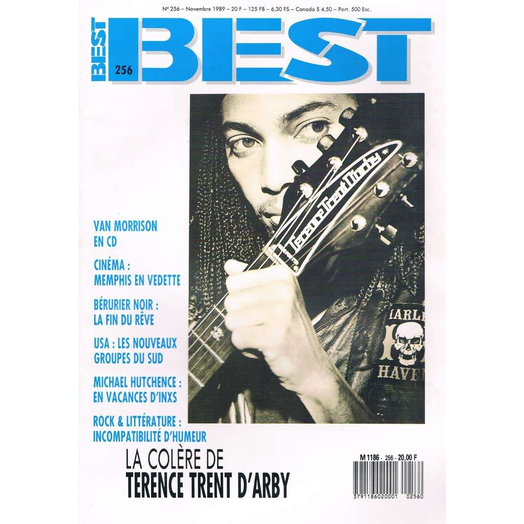 TERENCE TRENT D'ARBY - BERURIER NOIR - INXS BEST n° 256 / #256 (novembre 1989)