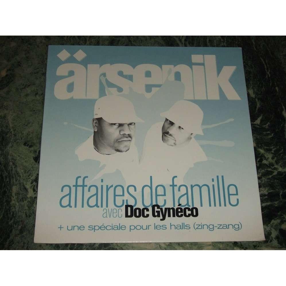 arsenik Affaires De Famille