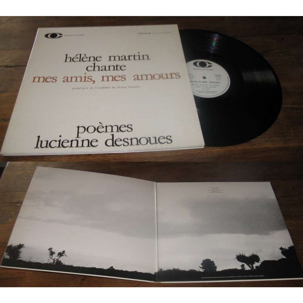 Helene Martin Chante Mes Amis, Mes Amours