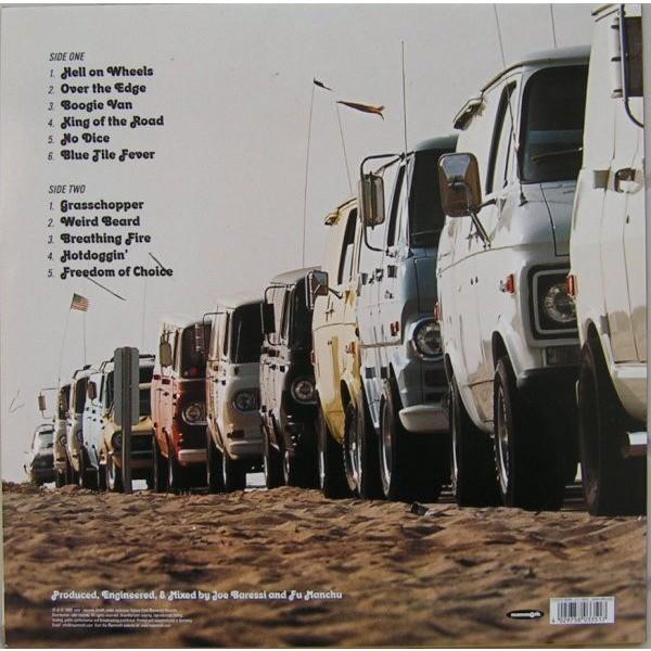 Fu Manchu King Of The Road (lp) Ltd Edit With Insert -USA
