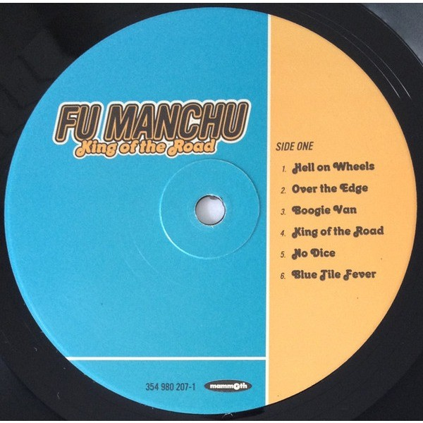 Fu Manchu ‎ King Of The Road (lp) Ltd Edit With Insert -USA