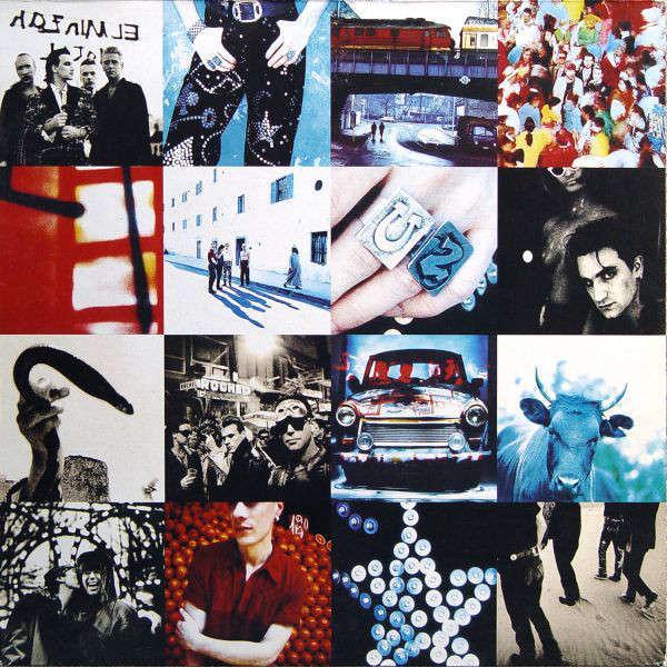 U2 Achtung Baby (lp) Ltd Edit Colored Vinyl -E.U