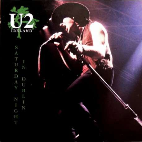 U2 Saturday Night in Dublin (lp) Ltd Edit Colored Vinyl -E.U
