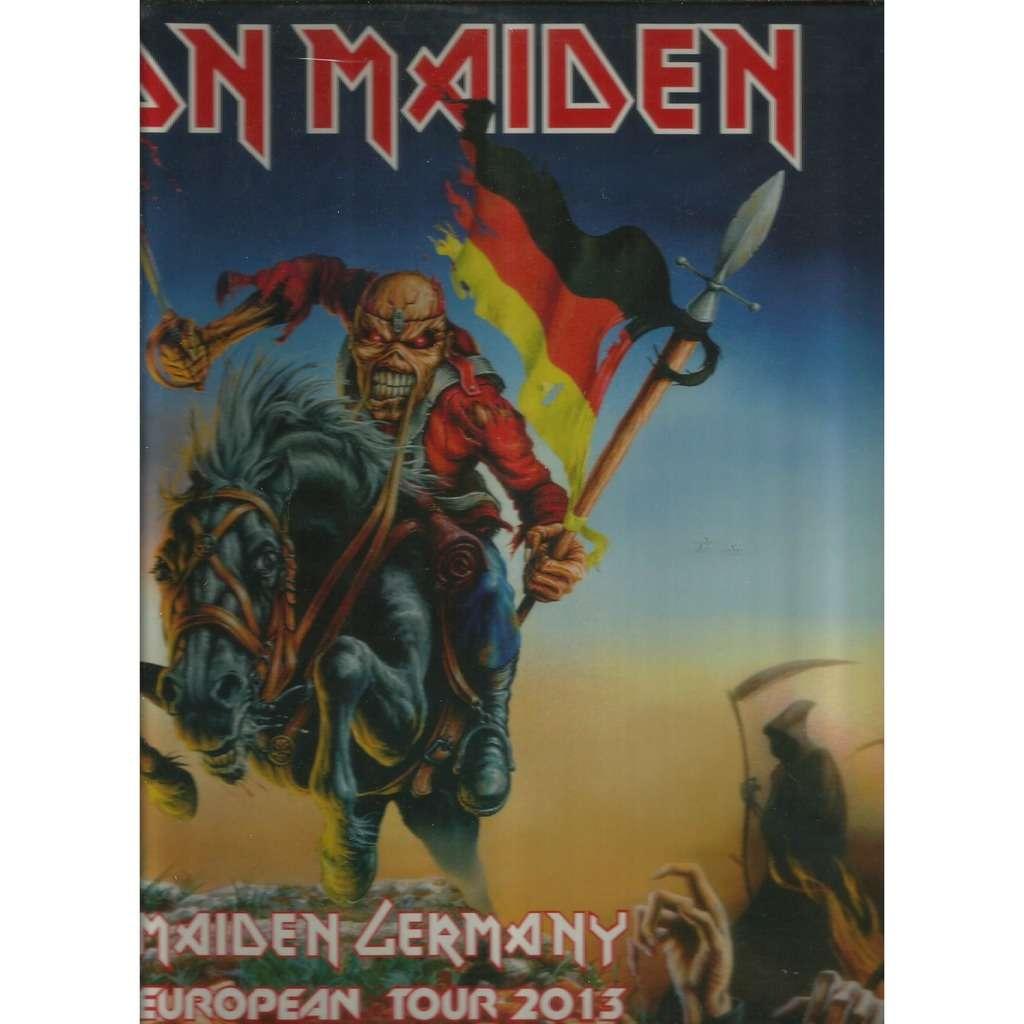 iron maiden maiden germany 2013
