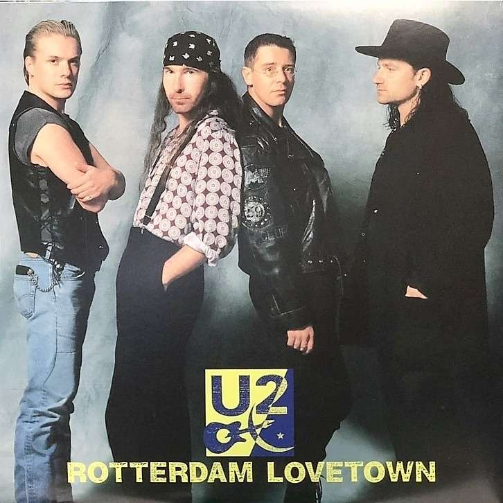 U2 Rotterdam Lovetown (2xlp) Ltd Gatefold Sleeve -E.U