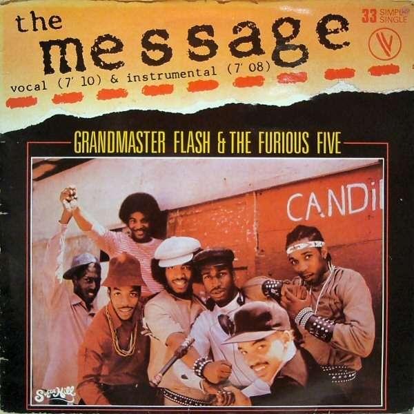 GRANDMASTER FLASH & FURIOUS 5 the message / instru.