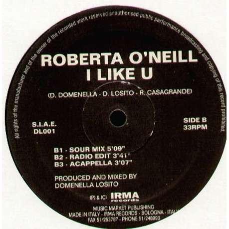 ROBERTA O NEILL I Like U