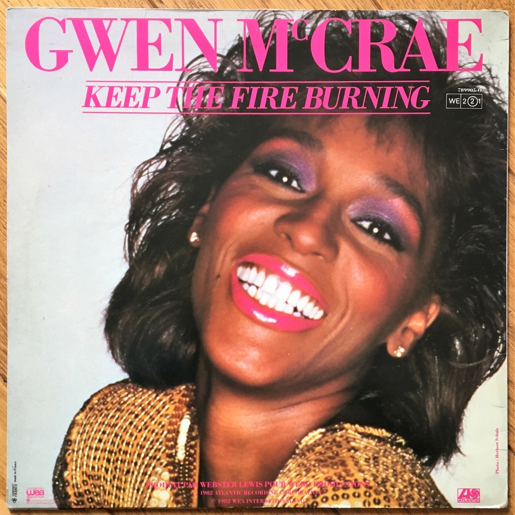 Gwen McCrae Keep The Fire Burning