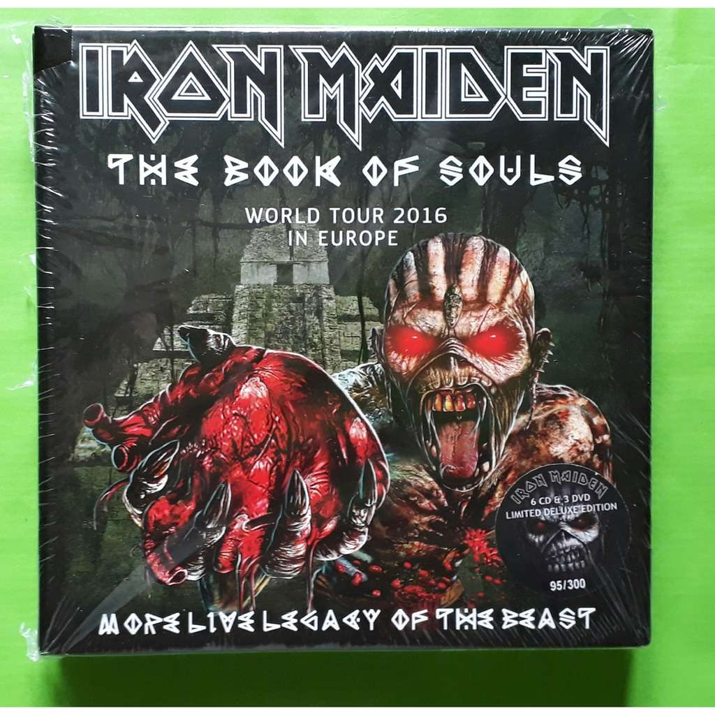 IRON MAIDEN THE BOOK OF SOULS-(Limited édition)(Box)(6CD/3DVD)+(Booklet)(Original)(2017)(Germany).