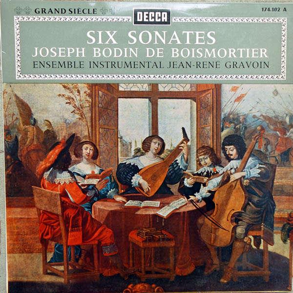 Ensemble Instrumental J.R.Gravoin Bodin De Boismortier : Six Sonates