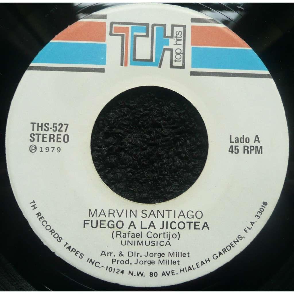 Marvin Santiago Fuego a la Jicotea / Si Dios me Quita la Vida
