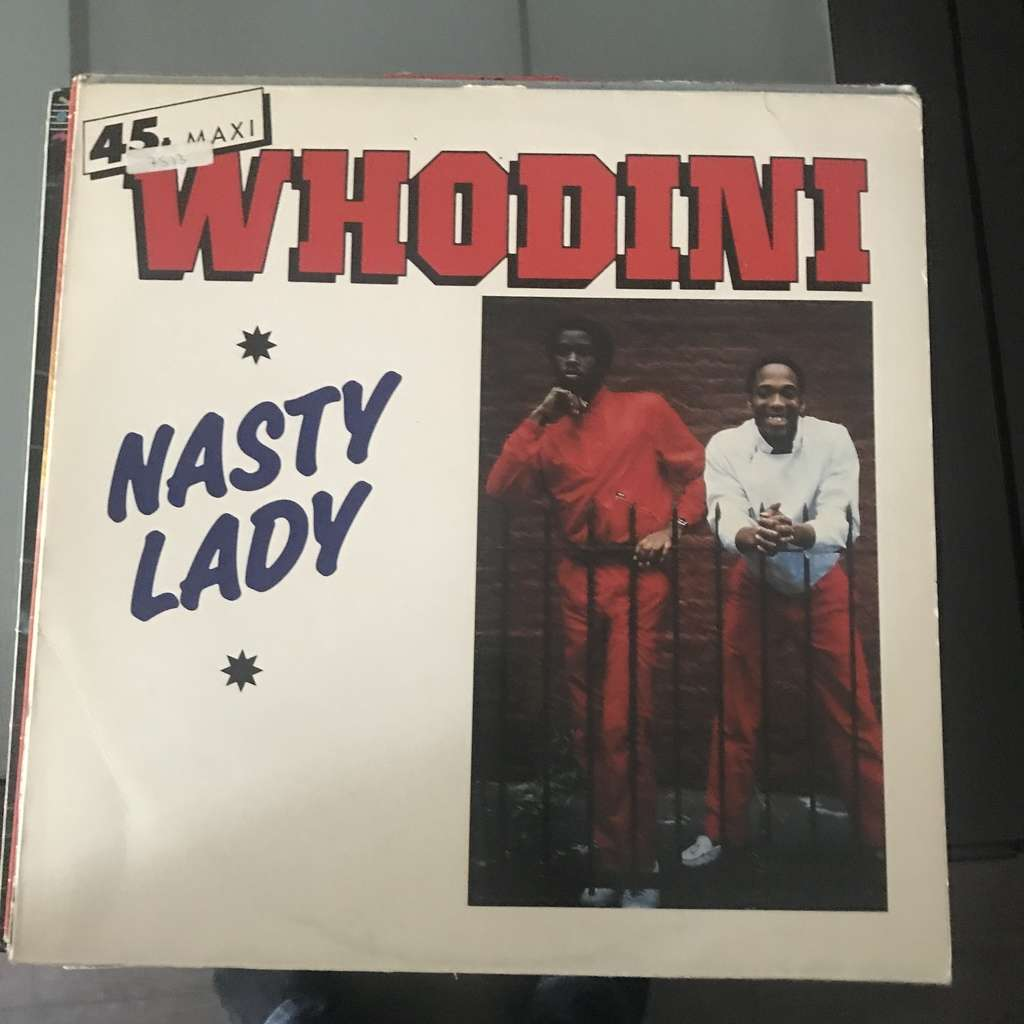 WHODINI nasty lady / instru. / underground