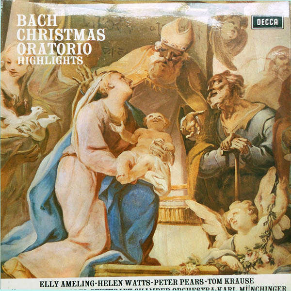 karl munchinger J.S.Bach : Christmas Oratorio