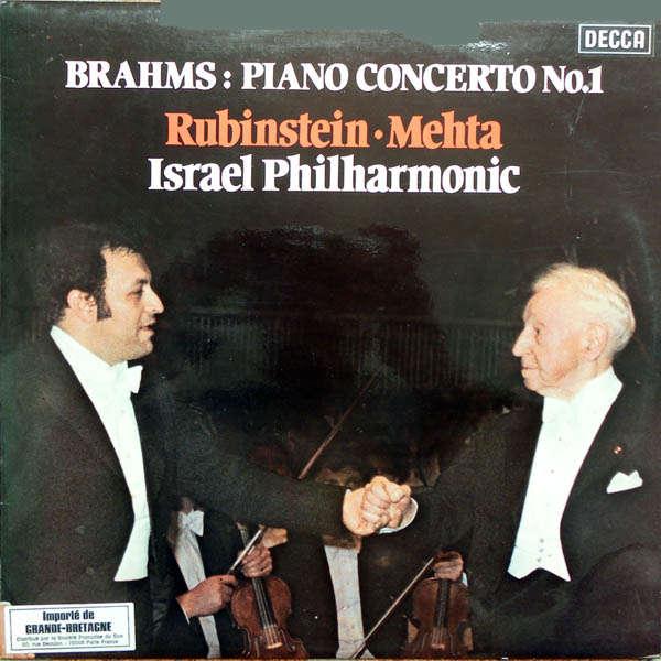 arthur rubinstein Brahms : Concerto pour piano n°1