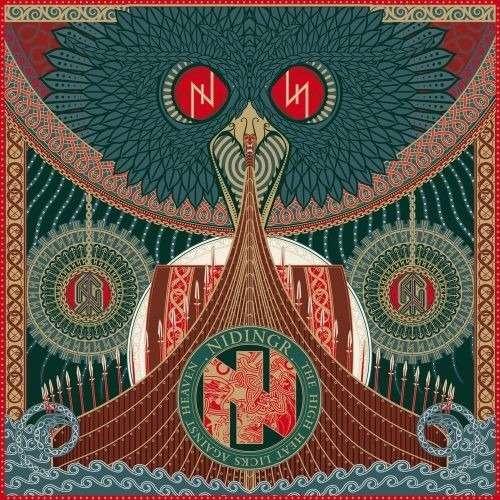 NIDINGR The High Heat Licks Against Heaven. Black Vinyl