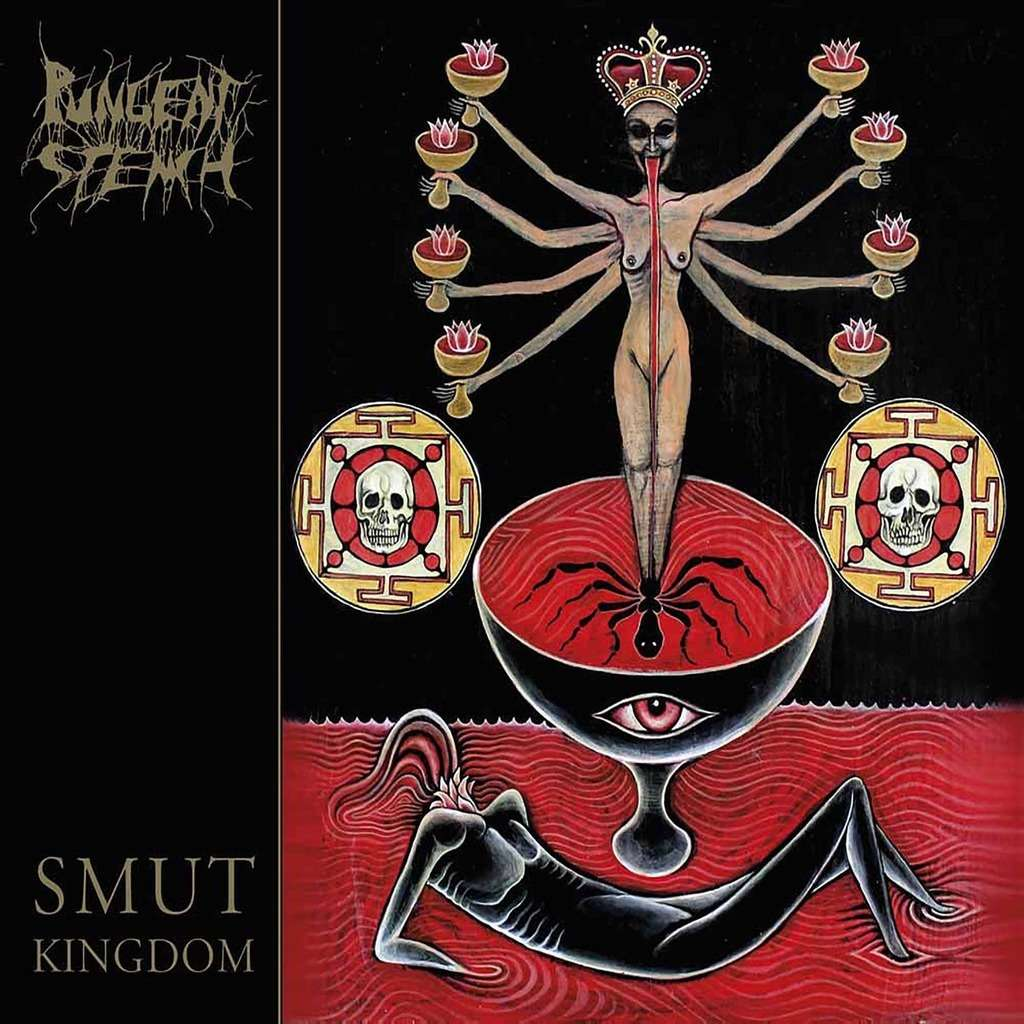 PUNGENT STENCH Smut Kingdom. Black Vinyl