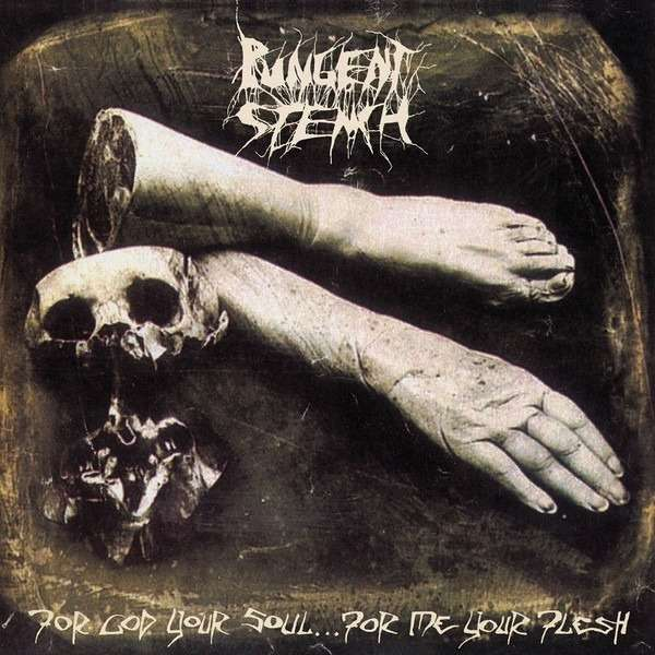 PUNGENT STENCH For God Your Soul...For Me Your Flesh. Black Vinyl