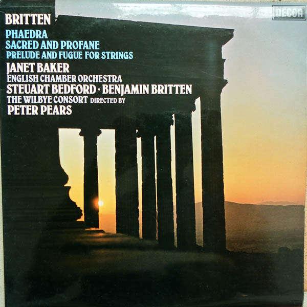 peter pears & benjamin britten Britten : Phaedra
