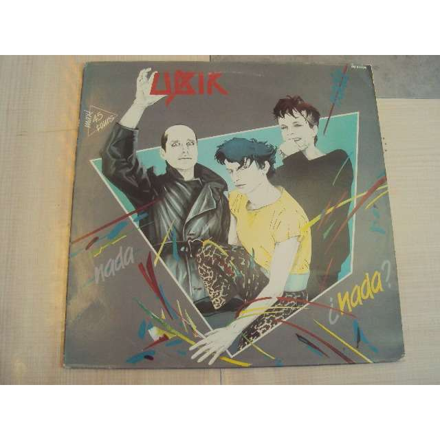 ubik nada (VOCAL 6'29) 1984 FRANCE (MAXIBOXLP)