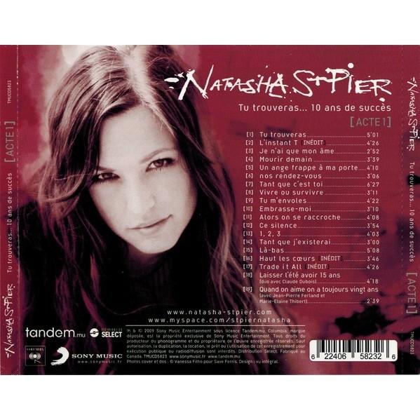 Natasha St-Pier Tu Trouveras... 10 Ans De Succès (Acte 1) - CANADA