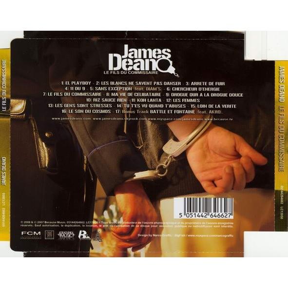James Deano Le Fils Du Commissaire