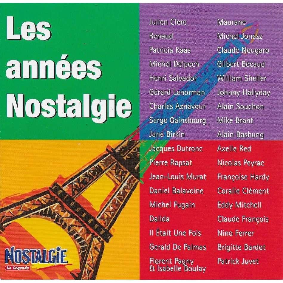 Maurane, Johnny Hallyday, Pierre Rapsat, J-L Murat les années Nostalgie - la légende (2cd edition1)