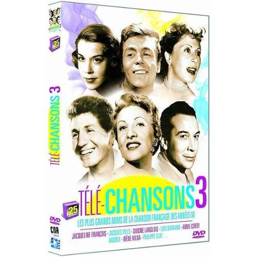JACQUELINE FRANCOIS PHILIPPE CLAY ANNIE CORDY TELE CHANSONS 3