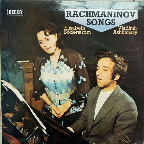 Elisabeth Södeström & Vladimir Ashkenazy Rachmaninov songs
