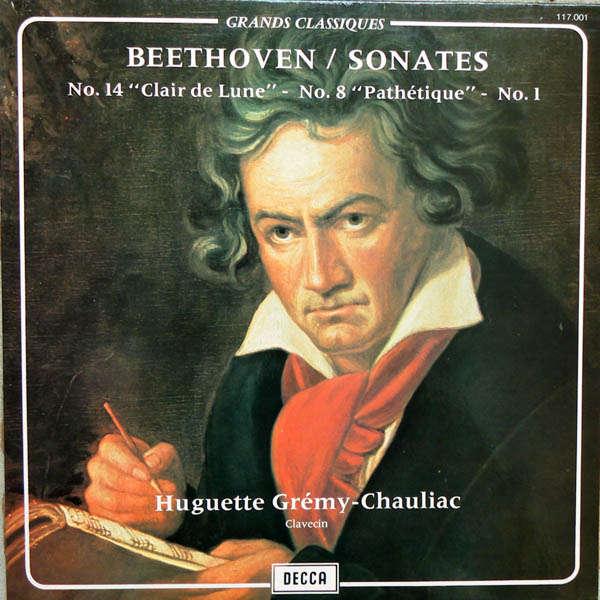 huguette gremy-chauliac Beethoven : Sonates