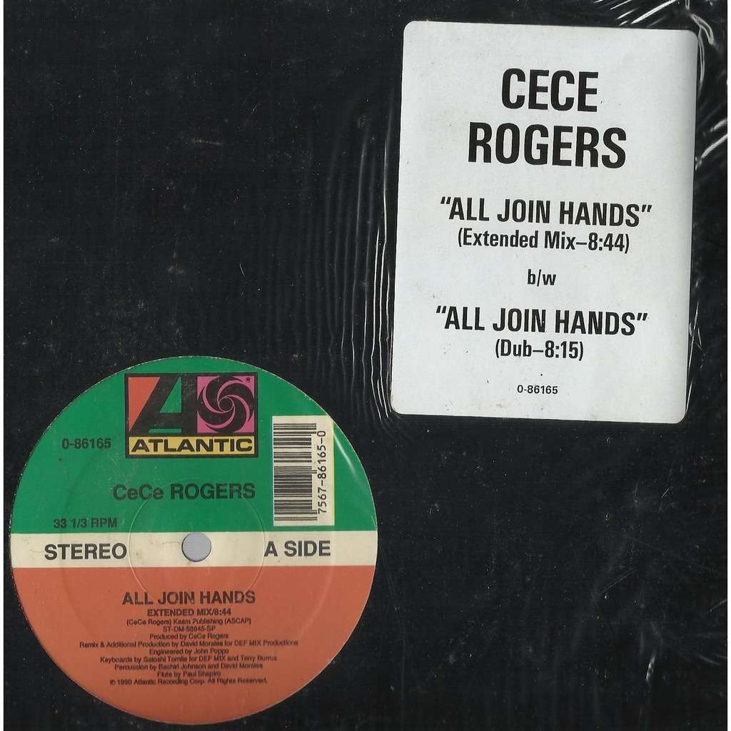 CeCe ROGERS all join hands , 12'' mix / dub mix