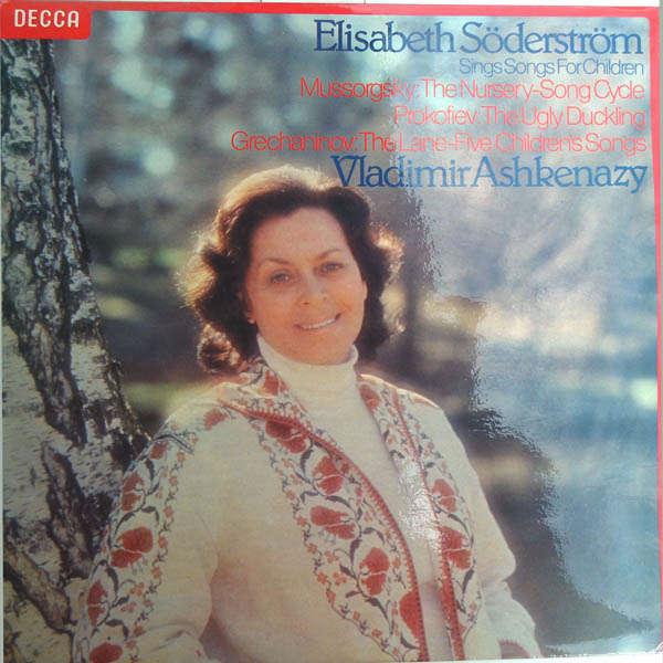 Elisabeth Söderström Sings songss for children