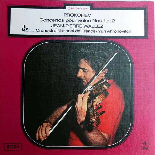 Jean-Pierre Wallez Prokofiev : Concertos pour violon 1 & 2