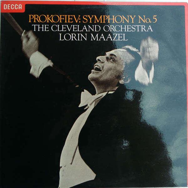 lorin maazel Prokofiev : Symphonie n°5