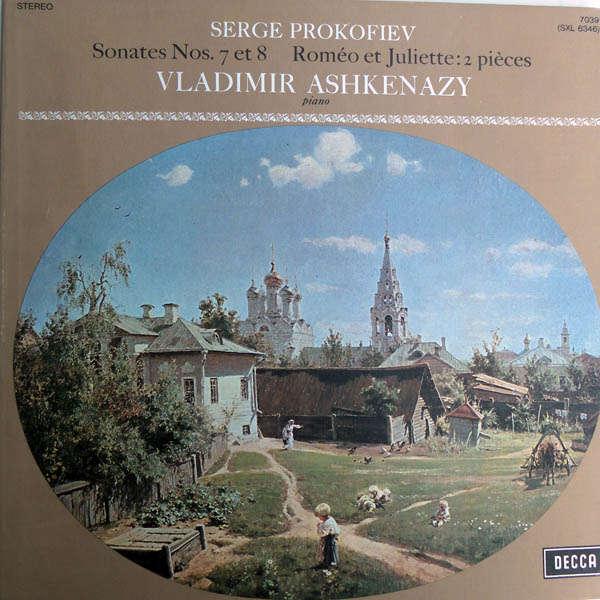 vladimir ashkenazy Prokofiev : Sonates n°7 & 8