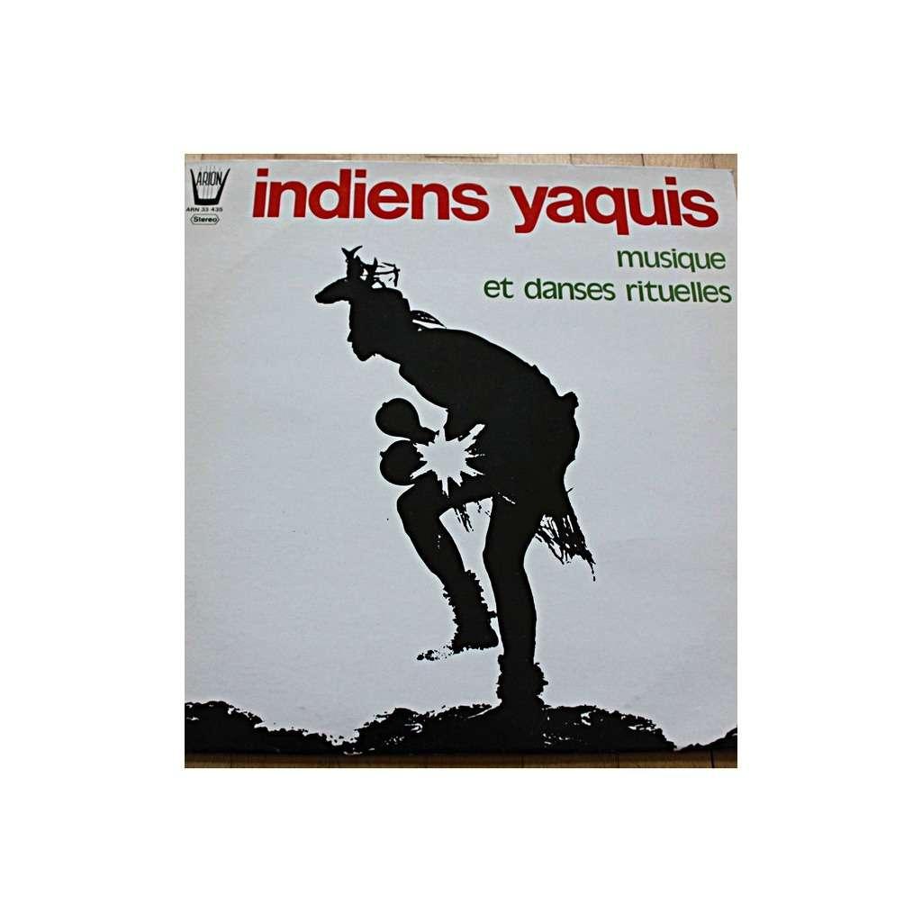 indiens yaquis musique et danses rituelles