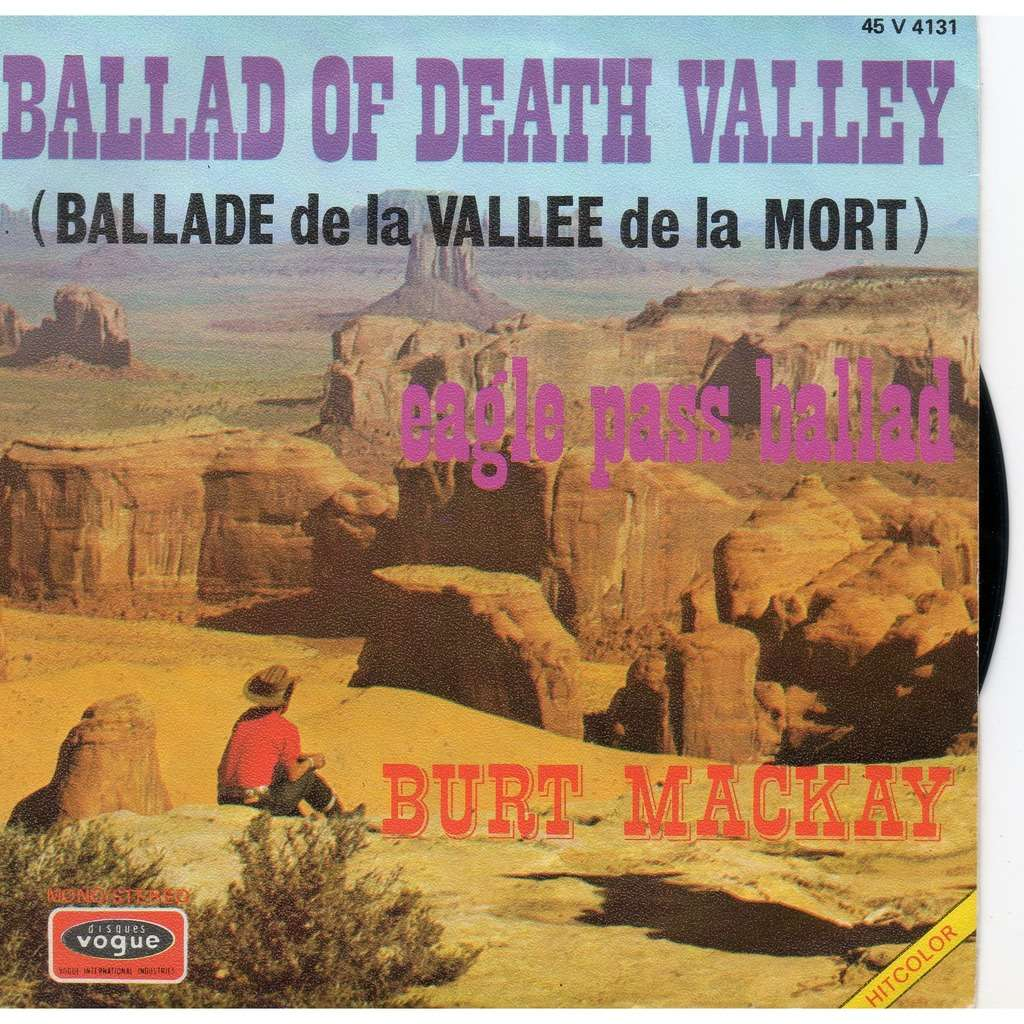 burt mackay ballad of death valley