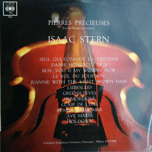 isaac stern Pierres précieuses