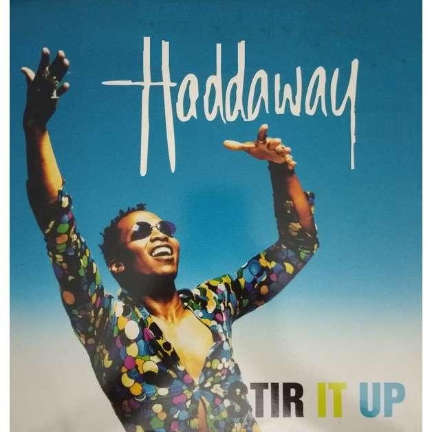 HADDAWAY stir it up , 12'' mix / rock my heart - 2mix