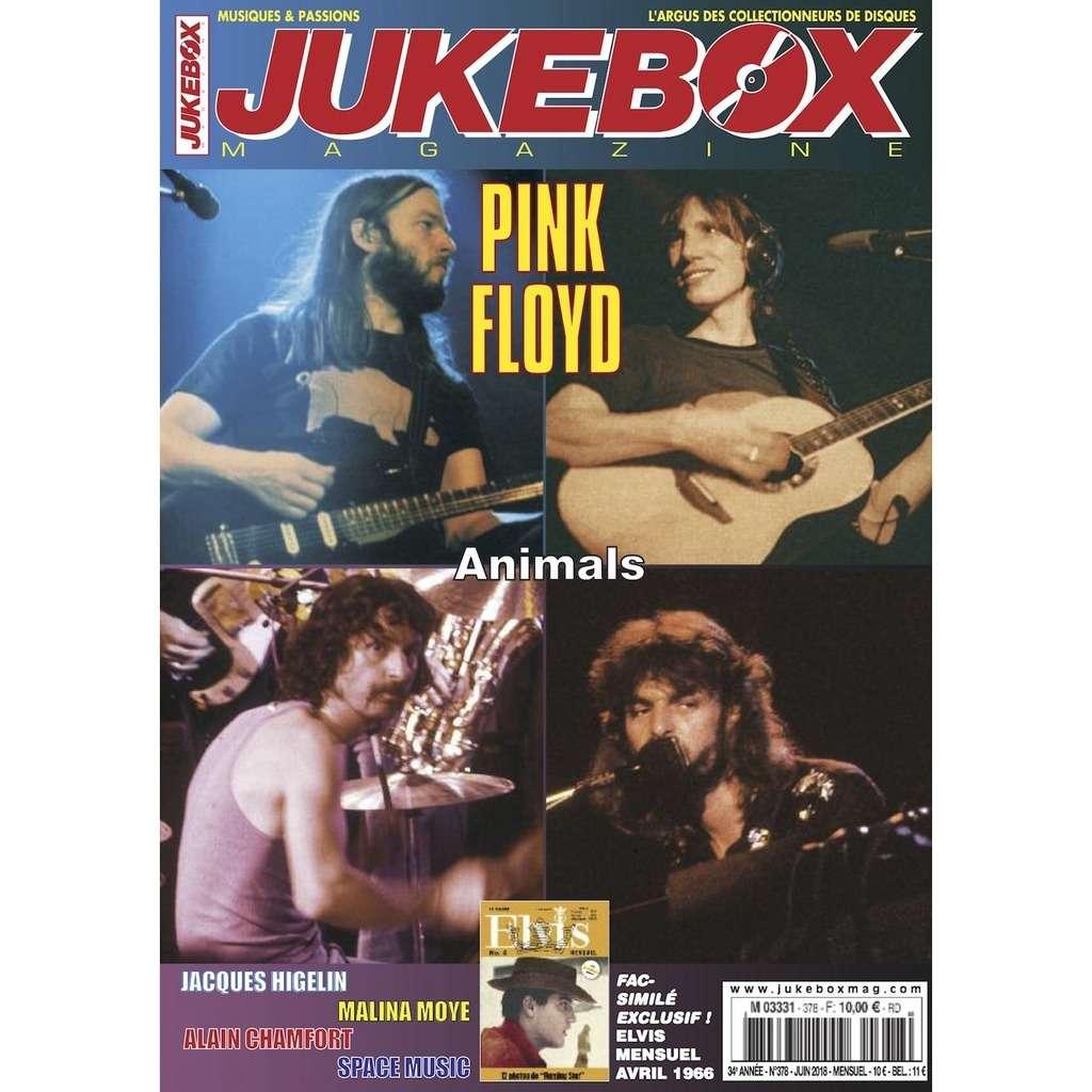 N°378 (JUIN 2018) PINK FLOYD MAGAZINE - JUKEBOXMAG.COM