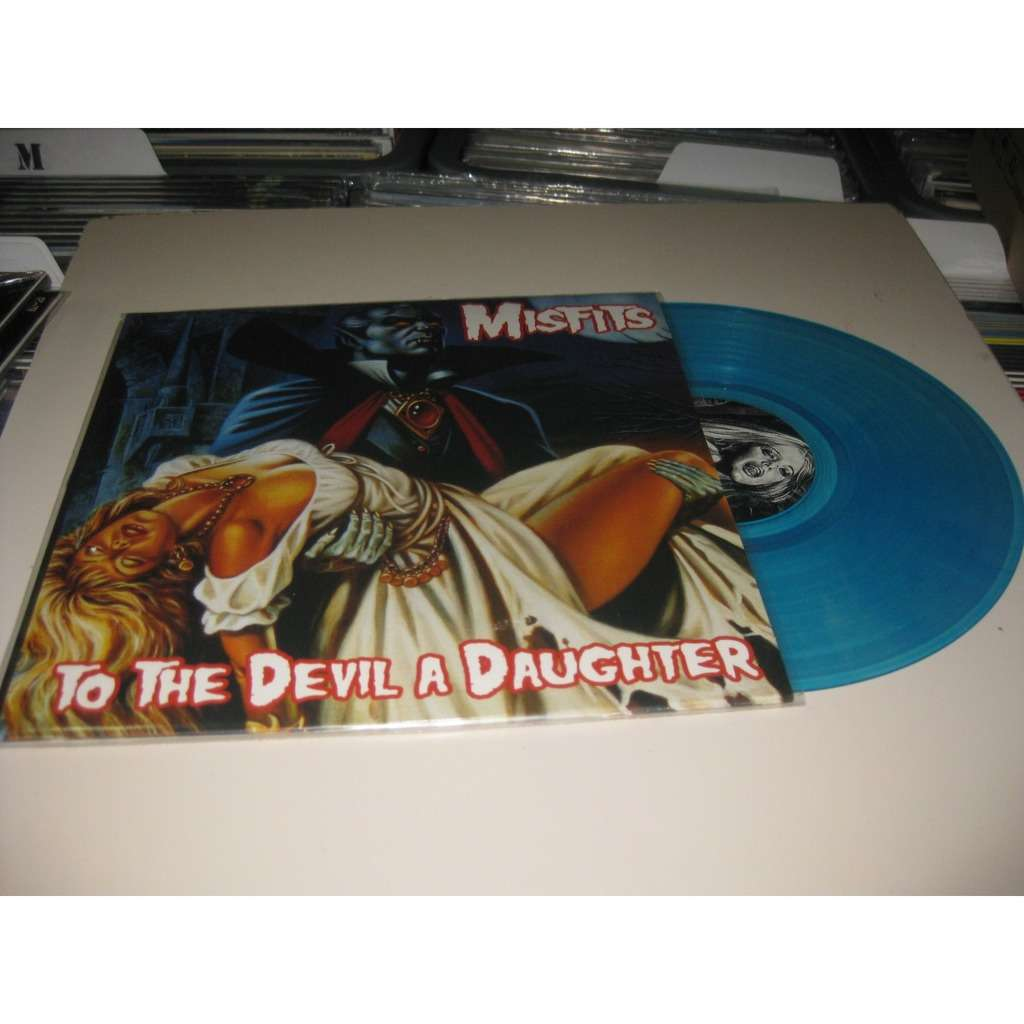 MISFITS TO THE DEVIL A DAUGHTER BLUE VINYL