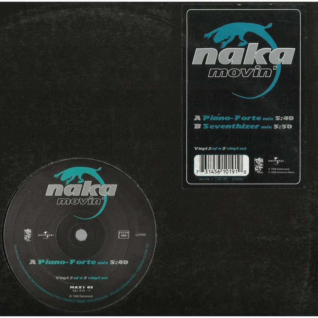 NAKA movin' , vinyl 2 - 2mix - (piano forte mix - seventhizer mix)