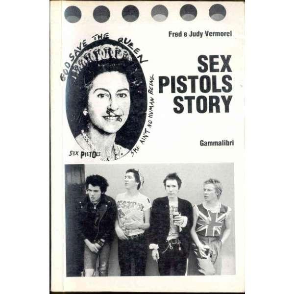 Sex Pistols Sex Pistols Story (Italian 1984 'Gammalibri' 320 pag. history book)