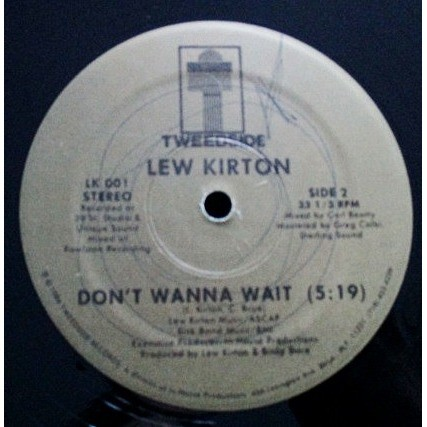 Lew Kirton - Don't Wanna Wait / Stuck In The Midd Lew Kirton - Don't Wanna Wait / Stuck In The Middle (Between Two)