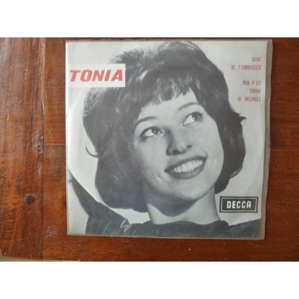 Tonia Avant de t'embrasser + 1