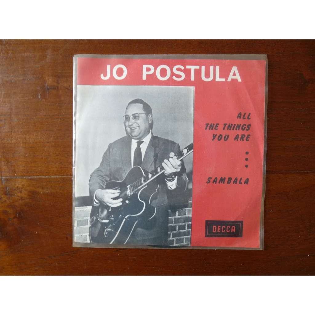 Jo Postula All things you are / Sambala