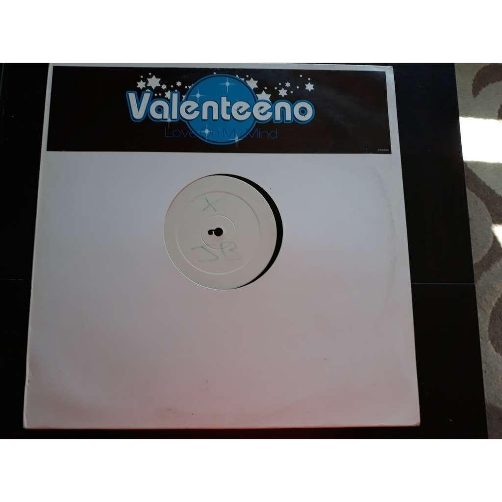 Valenteeno - Love On My Mind (12, W/Lbl) Valenteeno - Love On My Mind (12, W/Lbl)
