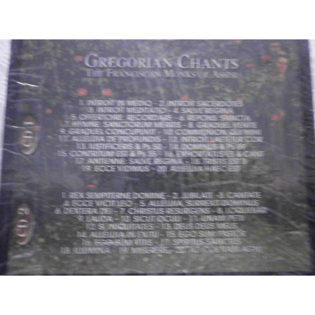 Gregorian Chants the Franciscan Monks of Assisi