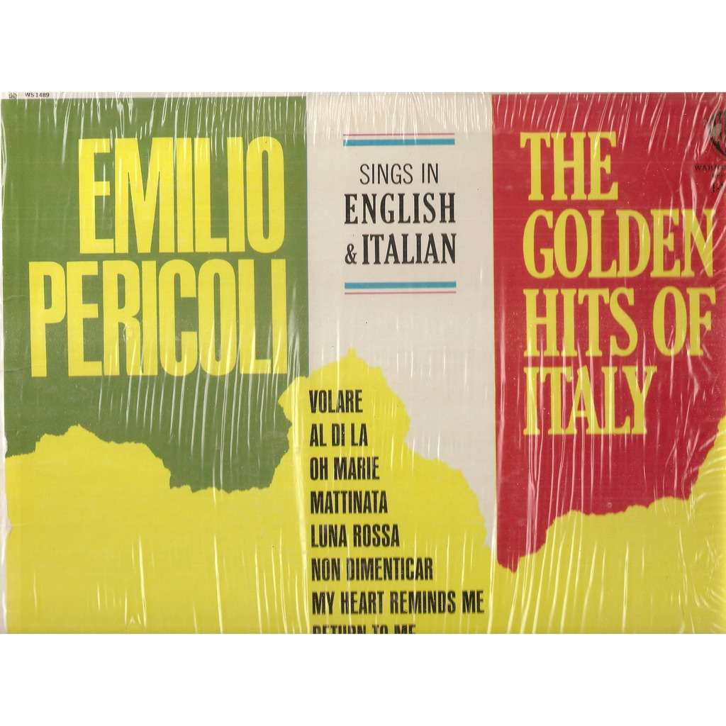 Emilio Pericoli ‎ The Golden Hits Of Italy