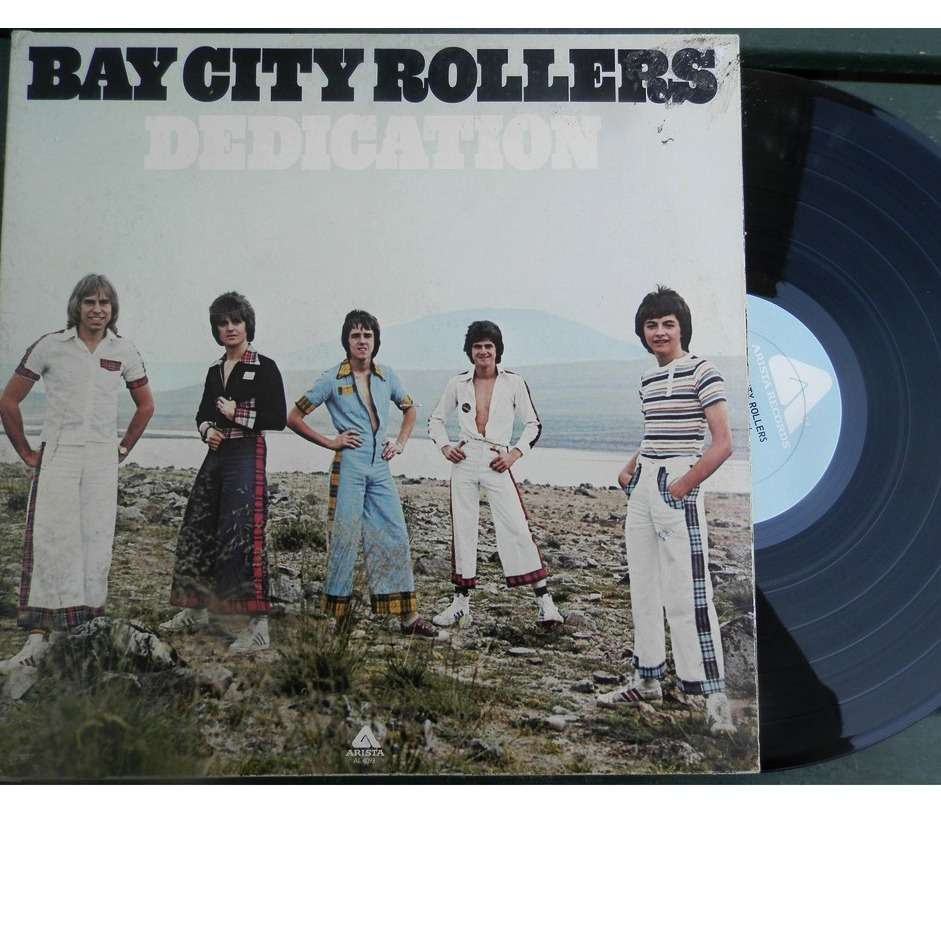 bay city rollers DEDICATION